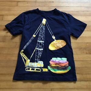 Crane and Burger Boys Tee